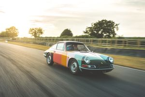 From the paddock to the pub with the Paul Smith Porsche 911