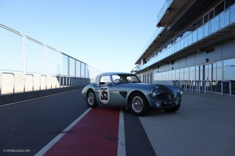 GALLERY: Go Behind The Scenes On Our 1963 Austin-Healey 3000 MkII Sebring Film Shoot