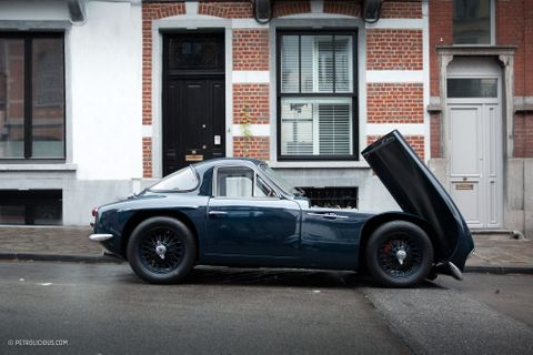 GALLERY: Go Behind The Scenes On Our 1963 TVR Grantura Film Shoot
