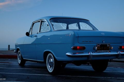 GALLERY: Go Behind The Scenes On Our 1964 Opel Kadett Film Shoot