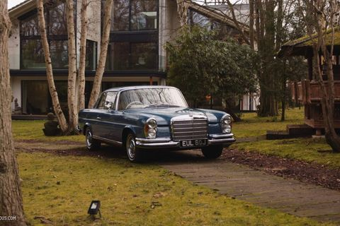 GALLERY: Go Behind The Scenes On Our 1968 Mercedes-Benz 280SE Film Shoot