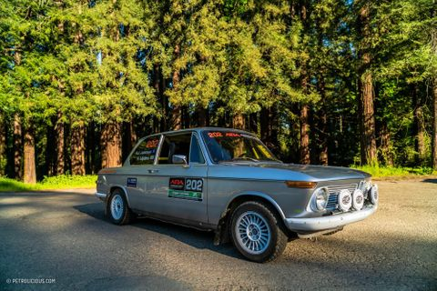 GALLERY: Go Behind The Scenes On Our 1971 Rally-Spec BMW 2002 Film Shoot