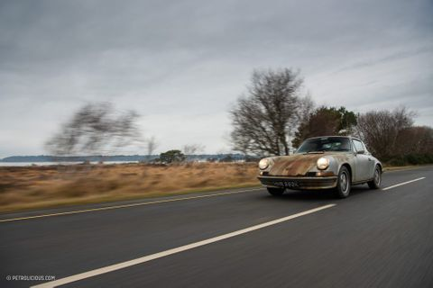 GALLERY: Go Behind The Scenes On Our 1972 Porsche 911S Targa Film Shoot In England
