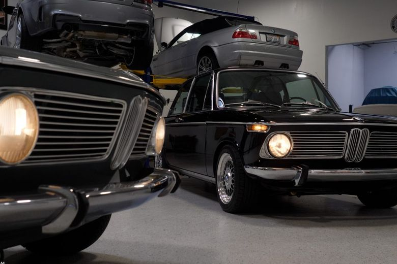 GALLERY: Go Behind The Scenes On Our 1973 BMW 2002 Film Shoot