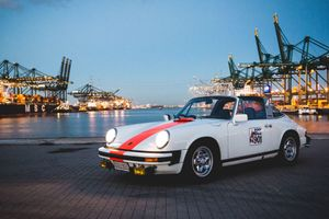 GALLERY: Go Behind The Scenes On Our 1976 Porsche 911 Targa Belgian Police Car Film Shoot