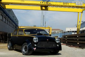 GALLERY: Go Behind The Scenes On Our Modified 1973 Mini Me-Pre Film Shoot
