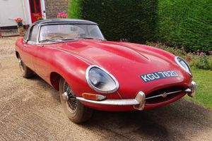 'Garden find' Jaguar E-type project to be offered at H&H auction