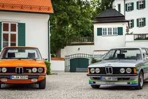 Going Back In Time To 1970s Bavaria With A BMW E12 525 And BMW Alpina 320i A4/3