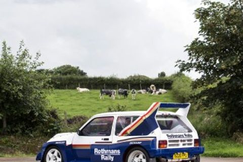 Group B Metro 6R4 Rally Machine With Just Seven Miles On The Clock Heads To Auction!