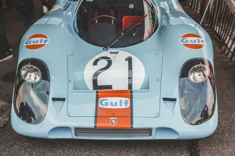 Half A Century On, The Porsche 917 Is Still A Show-Stopper. Especially When There Are Five In One Place