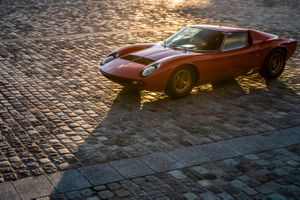 Here, have some more photos of Jean Todt's new Lamborghini Miura
