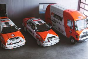 Honoring A Polish Rally Hero With Two Of His Restored Marlboro Fords