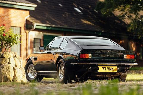 How the original Aston Martin V8 Vantage toppled the supercar tree
