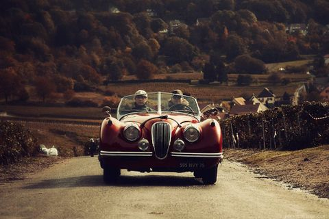 How To Crash A Vintage Car Rally And Get Away With It