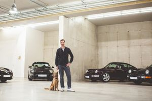 Hunting Porsche's greatest motor legends with Michael Schnabl
