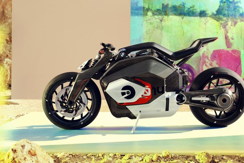 If The All-Electric BMW Vision DC Roadster Is The Future Of The Motorbike Then It's Going To Be A Helluva Ride
