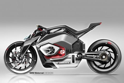 If The All Electric Bmw Vision Dc Roadster Is The Future Of The Motorbike Then It S Going To Be A Helluva Ride Artikel Ausgewählt Von Artebellum