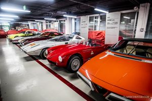 Inside the Alfa Romeo Museum's top-secret car storage warehouse