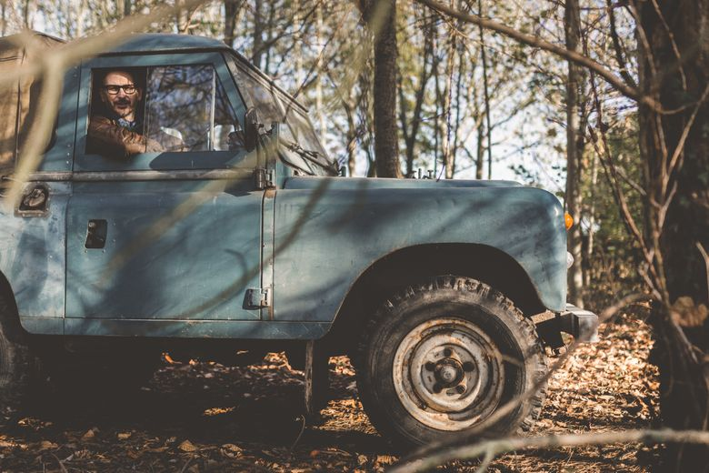 Into the woods with Tim Bent and his beloved Landy