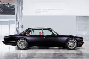 Iron Maiden drummer's custom Jaguar XJ6 unveiled at Geneva