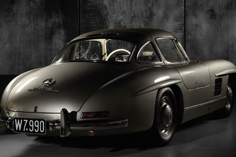 Is this the best collection of post-War Mercedes' in the world?
