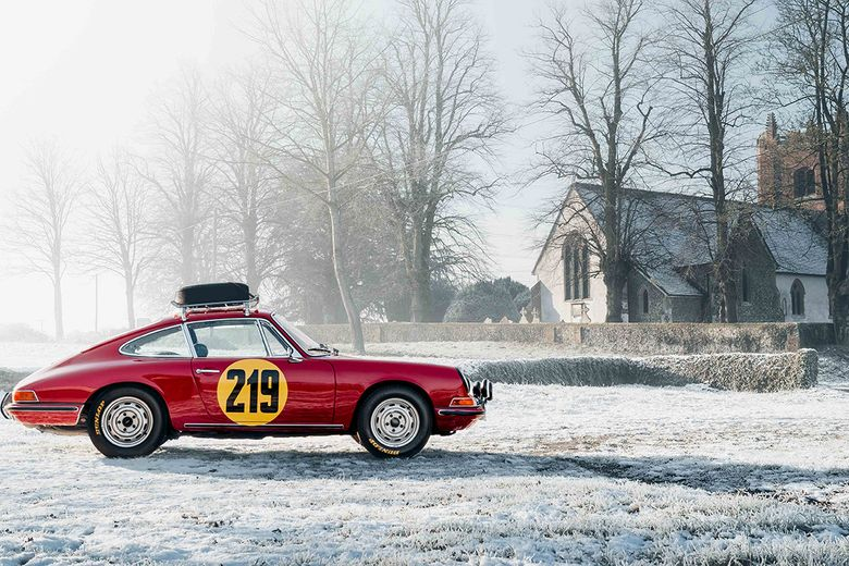 It's Monte-Carlo or bust for this rally-spec classic Porsche 911