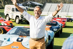 Jacky Ickx Reunited With 12 Of His Old Race Cars At The Amelia Island Concours And We Were There To Watch