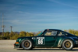 Jae Lee Drives A 1973 Porsche 911 With A Massive Air-Cooled And Naturally-Aspirated 4.4-Liter Flat-Six That He Built