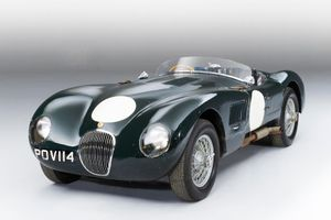 Jaguar C-type sells for €7,245,000 at Bonhams Monaco auction