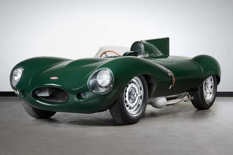 Jaguar D-type 'XKD 510' offered for auction