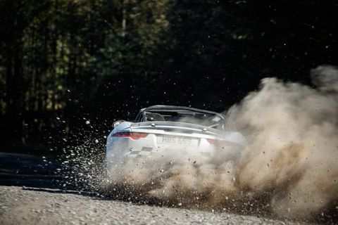 Jaguar F-Type Rally Twins Prove That More Manufacturers Should Send Their Sports Cars Off Jumps