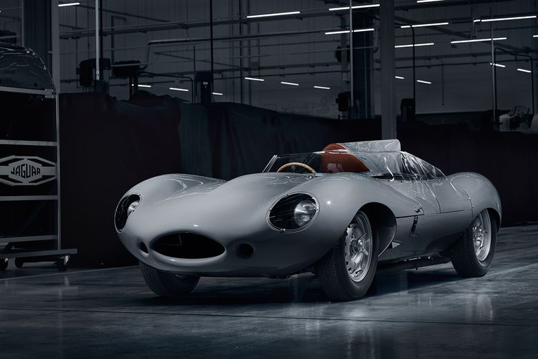 Jaguar restarts D-type production after 62 years
