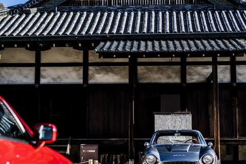 Japanese collectors show their secret cars at the Concorso d'Eleganza Kyoto