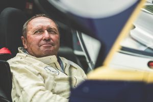 Jochen Mass reunites with his 1987 Kyalami-winning Porsche 962