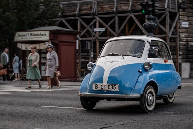 Jump into freedom aboard a tiny BMW Isetta