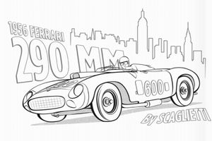 Keep the kids busy with the RM Sotheby's colouring book