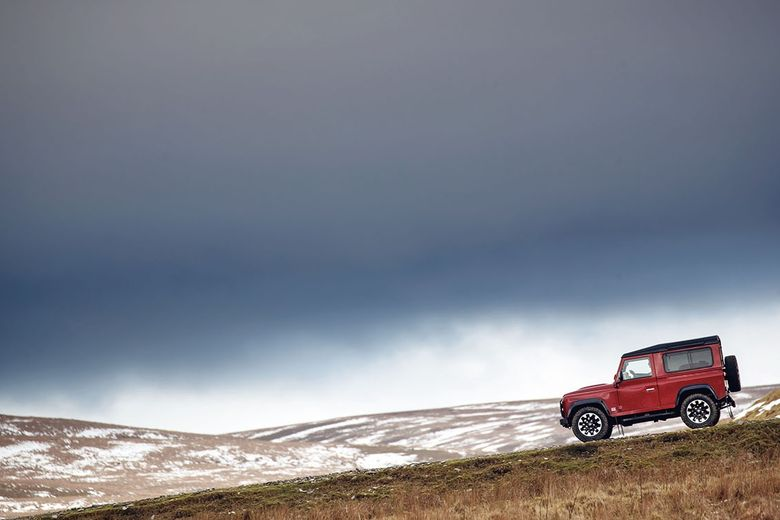 Land Rover celebrates its 70th anniversary with new V8 Defender