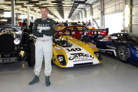 Le Mans Legend Tom Kristensen Introduces Twilight Tribute to Le Mans At This Year's Silverstone Classic