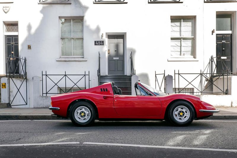 Led Zeppelin manager's Ferrari Dino heads under the hammer
