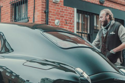 Like father, like son – Richard Gauntlett drives Victor's Aston Martin DB2