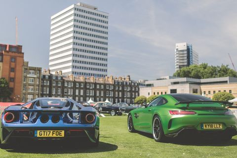 London Concours is a dreamy automotive oasis in the City