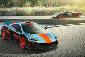McLaren gets into the spirit of Le Mans with F1-inspired 675LT