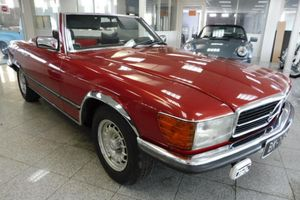 MERCEDES - 280 SL - Rouge - Cab - 1975