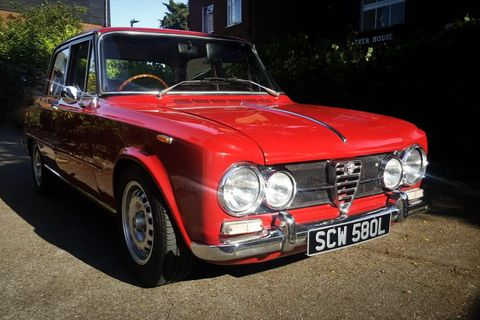 My 1973 Alfa Romeo Giulia Super: From South Africa To Southend