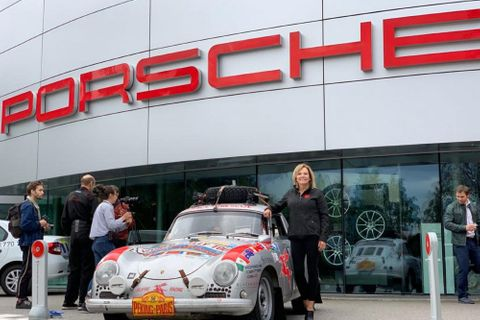New Engine Taken To Russia In Personal Luggage To Keep Renee Brinkerhoff's Porsche 356 On The Peking To Paris