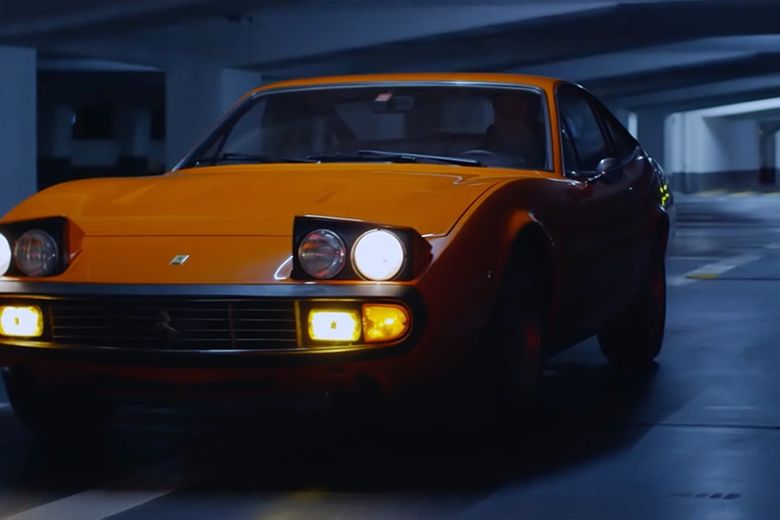 Nocturnal adventures with a Ferrari 365 GTC/4