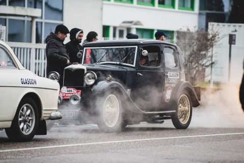Old Rileys Die Hard, And Tackle The Rallye Monte-Carlo Historique With Plenty Of Life Still In The Tank
