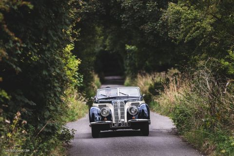 One Of A Dozen: Driving In Art Deco Elegance With A 1939 Frazer Nash BMW 327