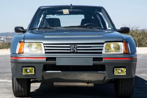 Peugeot 205 T16 active suspension by Lotus prototype – Auction highlight