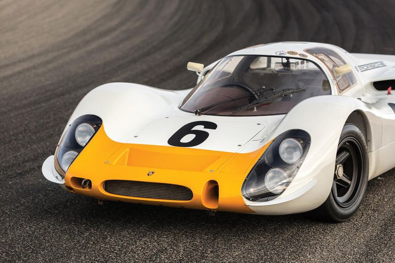 Porsche 908 Works 'Short-Tail' to be auctioned in Monterey